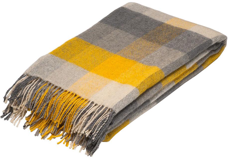 Плед Руно Амстердам, цвет: желтый, серый, 140 х 200 см. 1-681-140 (14)1-681-140 (14)Плед Руно Амстердам гармонично впишется в интерьер вашего дома и создаст атмосферу уюта и комфорта. Чрезвычайно мягкий и теплый плед с кистями изготовлен из натуральной овечьей шерсти. Высочайшее качество материала гарантирует безопасность не только взрослых, но и самых маленьких членов семьи. Плед - это такой подарок, который будет всегда актуален, особенно для ваших родных и близких, ведь вы дарите им частичку своего тепла!Размер: 140 х 200 см.