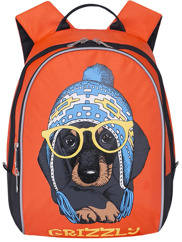Grizzly Рюкзак дошкольный цвет оранжевый grizzly рюкзак дошкольный цвет серый rs 764 5