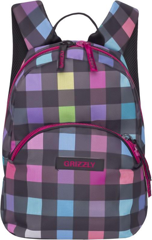 Grizzly Рюкзак дошкольный цвет мультиколор RS-756-5/4 grizzly рюкзак дошкольный цвет серый rs 764 5