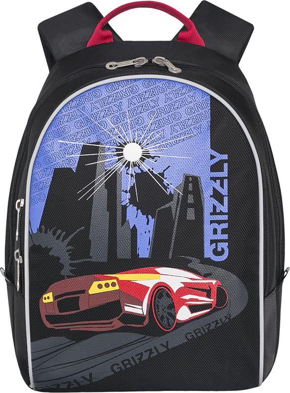 Grizzly Рюкзак дошкольный цвет красный RS-734-1/1 grizzly рюкзак дошкольный цвет черный rs 734 3 4