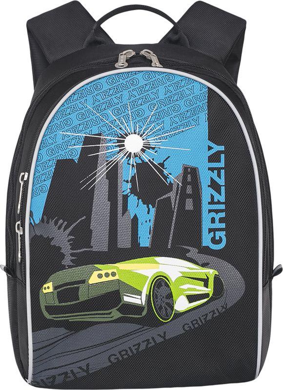 Grizzly Рюкзак дошкольный цвет светло-зеленый RS-734-1/2 grizzly рюкзак дошкольный цвет серый rs 764 5