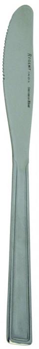 Нож столовый Regent Inox Eco, 3 шт93-CU-EC-01.3Столовый нож Regent Inox Eco выполнен из высококачественной нержавеющей стали с зеркальной полировкой. В комплекте - 3 ножа. Лезвия ножей - зубчатые.Такие столовые ножи прекрасно украсят ваш праздничный стол и порадуют своим простым, но элегантным дизайном. Характеристики:Материал: нержавеющая сталь 18/10. Комплектация: 3 шт. Общая длина ножа: 22 см. Длина лезвия: 10,5 см. Артикул: 93-CU-EC-01.3.