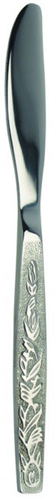 Нож столовый Regent Inox Parma, 2 шт93-CU-PA-01.2Столовый нож Regent Inox Parma выполнен из высококачественной нержавеющей стали с зеркальной полировкой. В комплекте - 2 ножа. Ручки ножей украшены декоративными узорами, лезвия - зубчатые. Такие столовые ножи прекрасно украсят ваш праздничный стол и порадуют своим элегантным дизайном. Характеристики:Материал: нержавеющая сталь 18/10. Комплектация: 2 шт. Общая длина ножа: 19,5 см. Длина лезвия: 8,5 см. Артикул: 93-CU-PA-01.2.