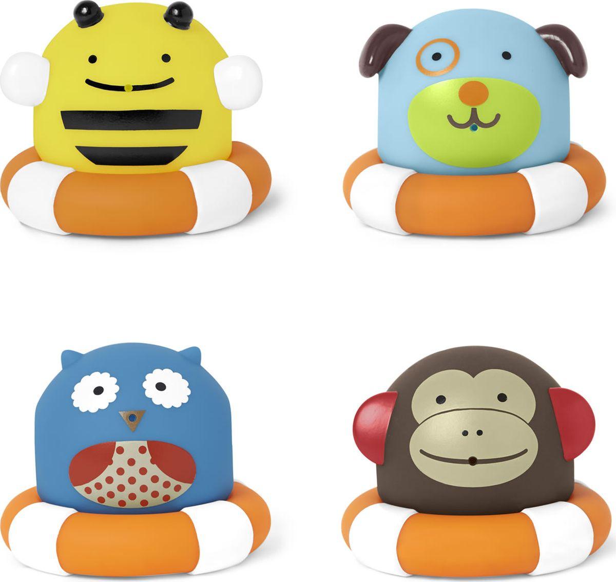 Skip Hop Игровой набор для ванной жирафики набор игрушек для ванной лошадка и свинка