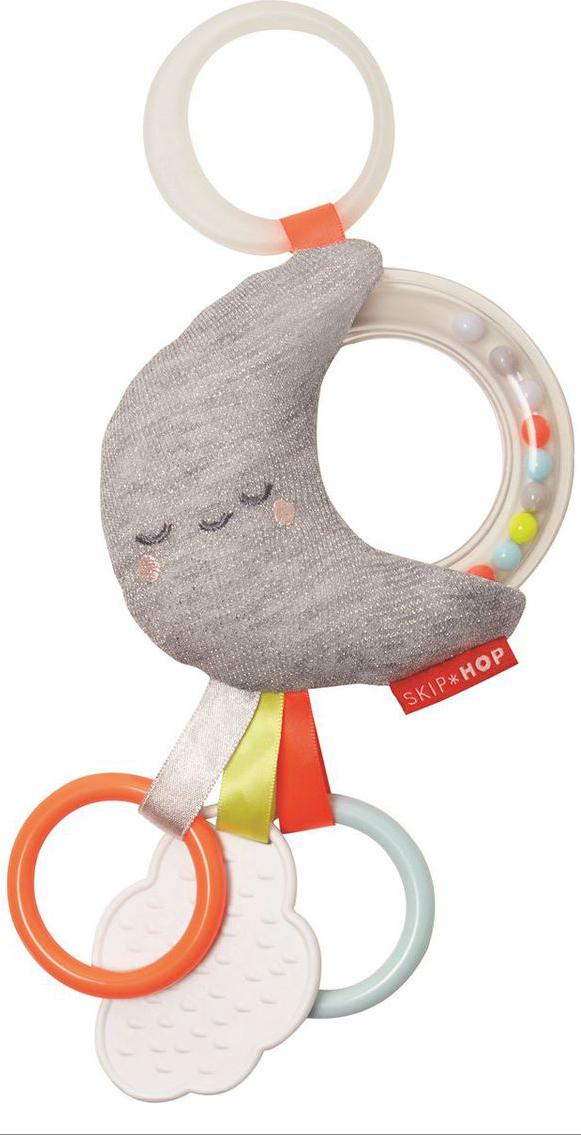 Skip Hop Развивающая игрушка-подвеска Месяц музыкальная подвеска на кроватку chicco чико спокойной ночи цвет розовый
