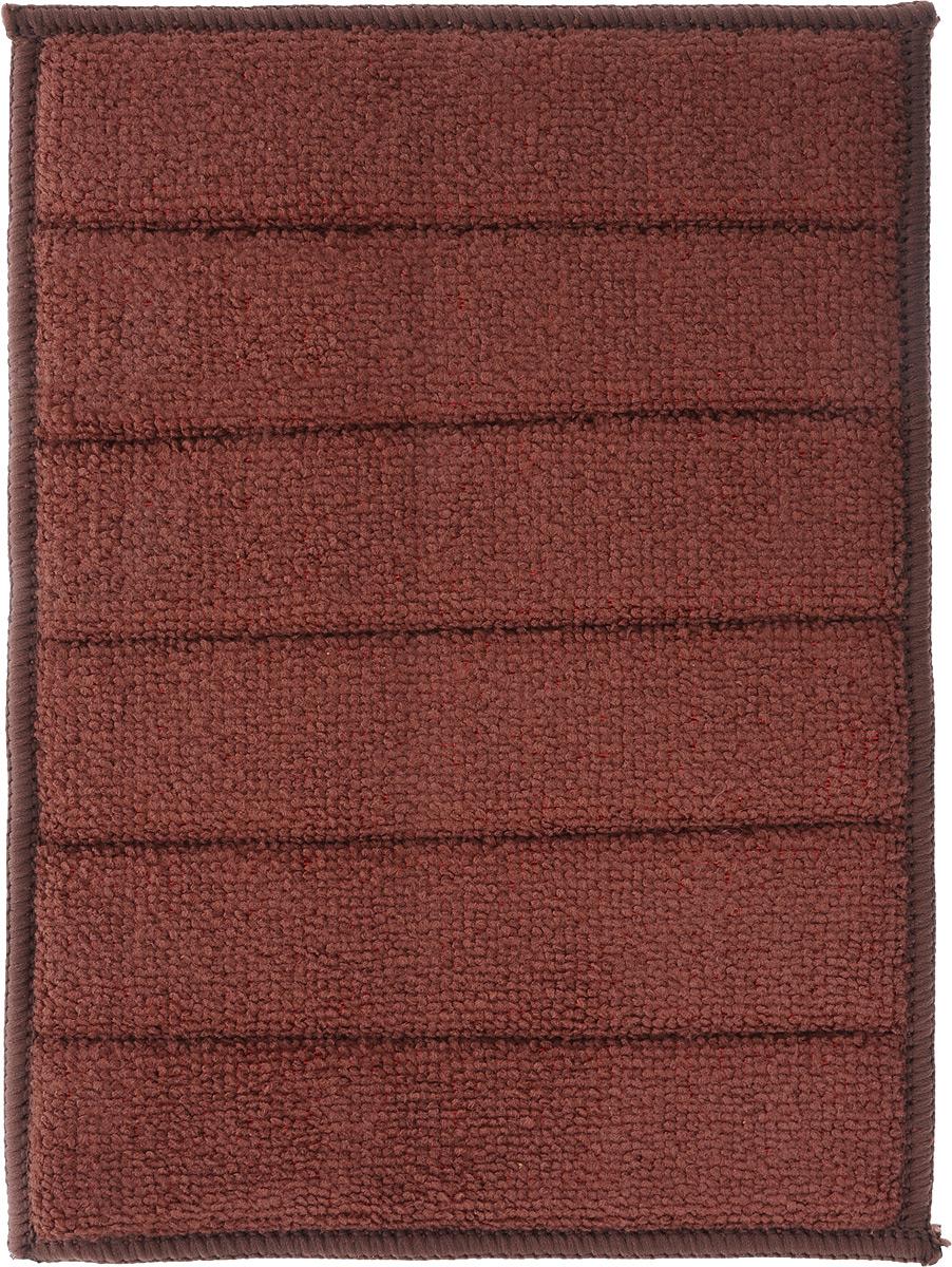 Салфетка для кухни Чистюля Антижир, цвет: розовый, коричневый, 17 х 23 смМФ007_розовый, коричневыйСалфетка для кухни Чистюля Антижир выполнена из микрофибры (полиэстер и полиамид) и поролона. Изделие очищает без моющих средств одним движением. Салфетка идеальна для удаления кухонного жира с плиты и мебели, электрического чайника, микроволновки, а также гладких поверхностей, таких как баночки со специями и крупами, чайники и сахарницы, застекленные секции шкафчиков, кафель. Особенно хороша для поверхностей, которые нельзя мыть, а только протирать - бытовая техника, выключатели, розетки, провода. Для особо стойких загрязнений (плита, раковина, кухонный фартук) рекомендуется использовать небольшое количество моющего средства. Такая салфетка очень практична и неприхотлива в уходе. Рекомендуется стирка при температуре до 60°C.