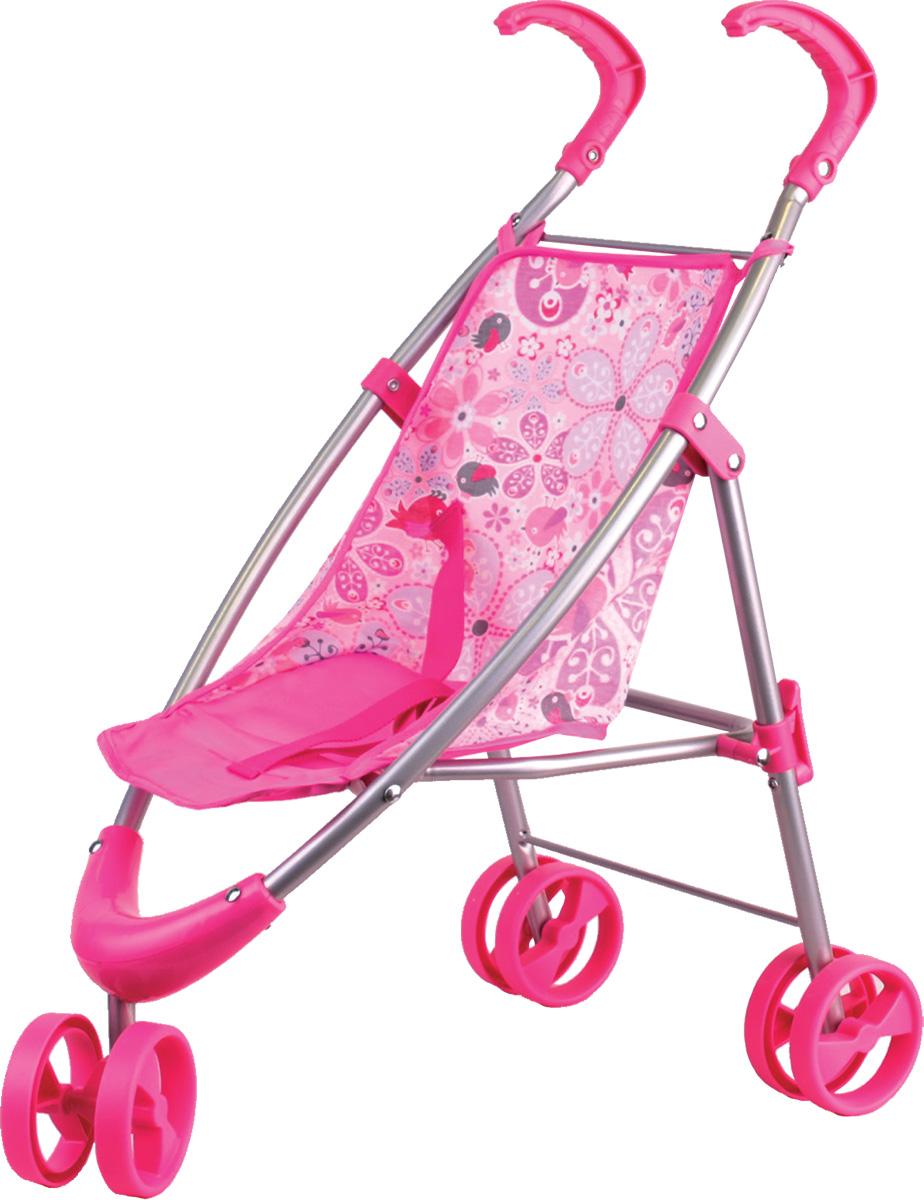 Gulliver Коляска прогулочная для кукол цвет розовый 22-12030 rant коляска прогулочная vira alu цвет желтый