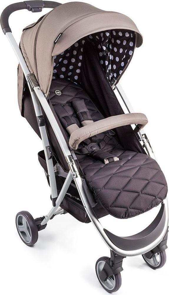 Happy Baby Коляска прогулочная Eleganza V2 цвет бежевый коричневый -  Коляски и аксессуары