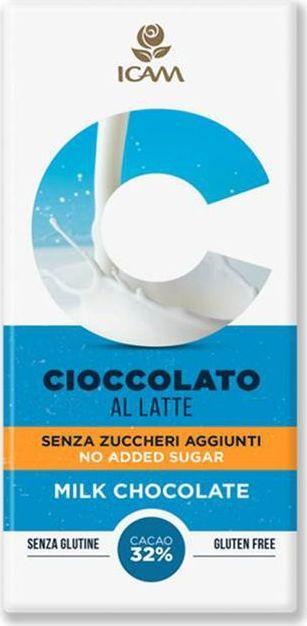 Icam Vanini шоколад классик без добавления сахара молочный 32% какао, 100 гК7205Шоколад ICAM Классик без добавления сахара молочный 32% какао – это плод вечной страсти, передаваемый с 1946 года из поколения в поколение семьей Agostoni, - виртуозами по производству подлинного итальянского шоколада. Высококачественные ингредиенты. Высококачественные ингредиенты. Продукция не содержит глютен. Привлекательный дизайн упаковки.Пищевая ценность на 100 г продукта: белки: 7,3 г., углеводы: 49,2 г., жиры: 31 г.