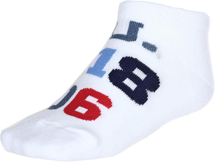 Носки детские Baykar, цвет: белый, 2 пары. 135912-1. Размер 10,5/12, 6-12 месяцев135912-1Детские носки Baykar изготовлены из высококачественного эластичного хлопка с добавлением полиамида. Укороченные носки имеют эластичную резинку, которая надежно фиксирует носки на ноге. В комплект входит 2 пары носков.
