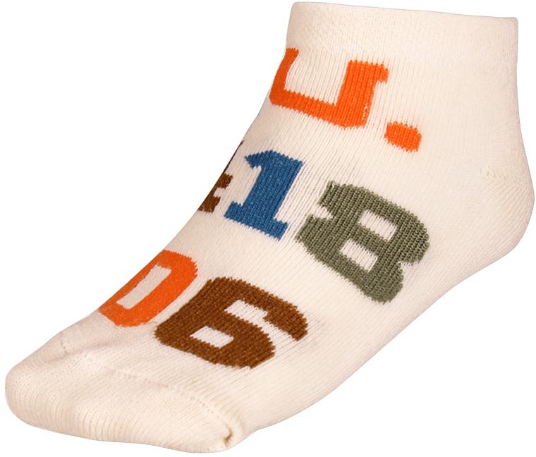 Носки детские Baykar, цвет: молочный, 2 пары. 135912-17. Размер 10,5/12, 6-12 месяцев135912-17Детские носки Baykar изготовлены из высококачественного эластичного хлопка с добавлением полиамида. Укороченные носки имеют эластичную резинку, которая надежно фиксирует носки на ноге. В комплект входит 2 пары носков.