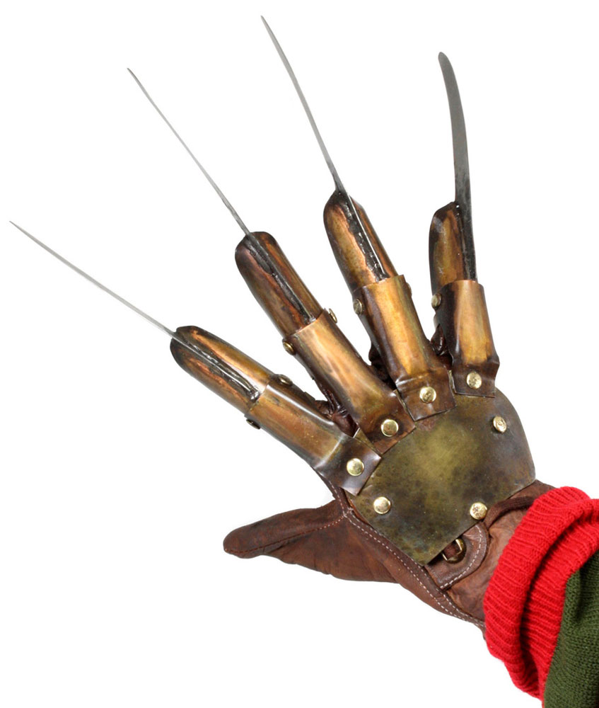 Nightmare On Elm Street 3. Реплика Freddy Krueger Glove Prop a nightmare on elm street 3 dream warriors ultimate part 3 freddy krueger les griffes de la nuit action figure collectible toys