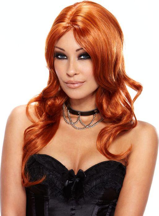 Парик из длинных кудрявых рыжих волос Ruby. Размер универсальный. EF-WG-15-REDEF-WG-15-REDНасыщенный яркий рыжий цвет для Ваших волос без вреда для их здоровья? Элементарно и всего за минуту! Парик Erotic Fantasy из качественных японскиз искусственных волос с длинными вьющимися локонами - отличное решение! Поменя свой образ или преврати себя в сексуальную Пеппи длинный чулок! После мытья парик не надо заново укладывать, прическа восстановится сама.