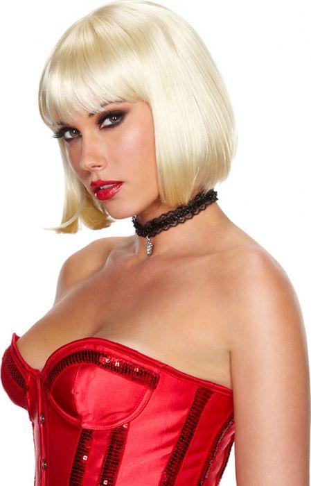 Каре платиновый блонд Playfully Platinum. Размер универсальный. EF-WG-23-WHT - Средства и аксессуары для волос