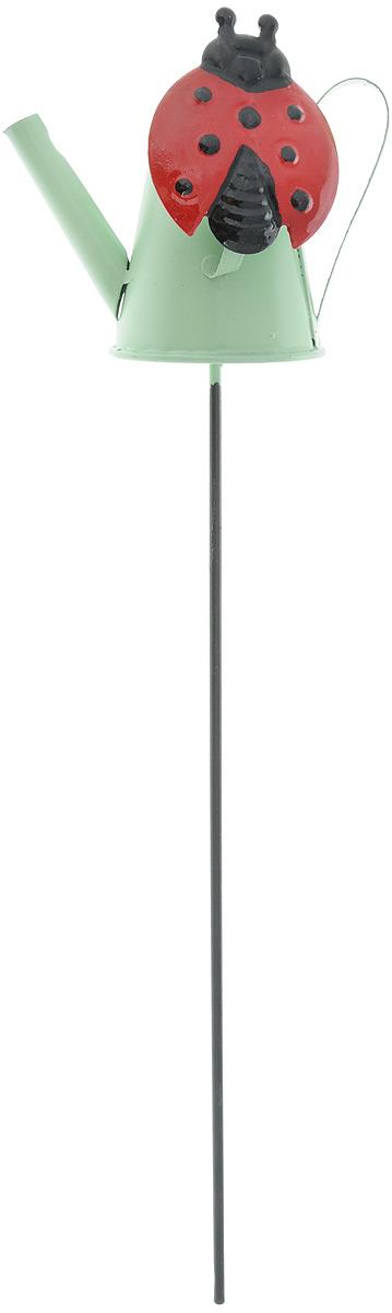 Украшение декоративное садовое Феникс-Презент Леечка, высота 31,5 см43868Декоративное садовое украшение Феникс-Презент изготовлено из металла и представляет собой палочку с фигуркой лейки наверху. Декоративные садовые фигурки внесут завершающий штрих при создании ландшафтного дизайна дачного или приусадебного участка. Они позволят создать правдоподобную декорацию и почувствовать себя среди живой природы. Кроме этого, веселые и незатейливые, они поднимут настроение вам, вашим друзьям и родным. Длина украшения: 31,5 см. Размер фигурки: 9 х 5,5 х 8 см.