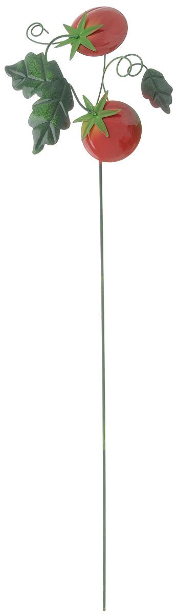 Украшение декоративное садовое Феникс-Презент Помидорки, высота 55 см43873Декоративное садовое украшение Феникс-Презент изготовлено из металла и представляет собой палочку с фигуркой в виде помидор наверху. Декоративные садовые фигурки внесут завершающий штрих при создании ландшафтного дизайна дачного или приусадебного участка. Они позволят создать правдоподобную декорацию и почувствовать себя среди живой природы. Кроме этого, веселые и незатейливые, они поднимут настроение вам, вашим друзьям и родным. Длина украшения: 55 см. Размер фигурки: 16,5 х 15 см.