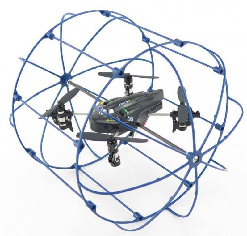 Happy Cow Квадрокоптер на радиоуправлении SKY Phantom цвет синий - Радиоуправляемые игрушки