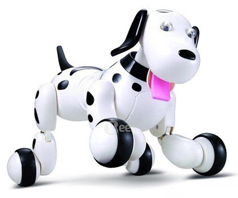 Happy Cow Робот на радиоуправлении Smart-Dog цвет белый