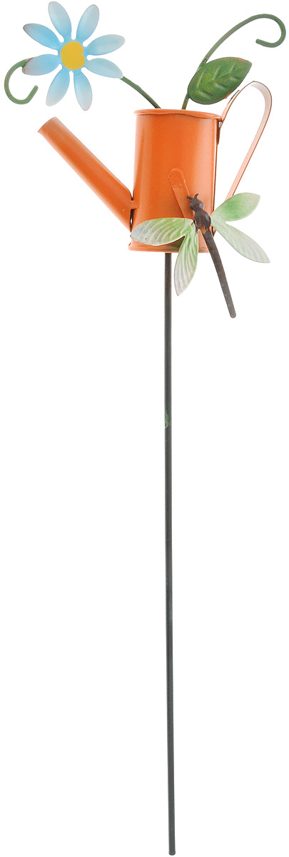 Украшение декоративное садовое Феникс-Презент Леечка, высота 34 см43869Декоративное садовое украшение Феникс-Презент изготовлено из металла и представляет собой палочку с фигуркой лейки наверху. Декоративные садовые фигурки внесут завершающий штрих при создании ландшафтного дизайна дачного или приусадебного участка. Они позволят создать правдоподобную декорацию и почувствовать себя среди живой природы. Кроме этого, веселые и незатейливые, они поднимут настроение вам, вашим друзьям и родным. Длина украшения: 34 см. Размер фигурки: 11 х 5 х 10 см.