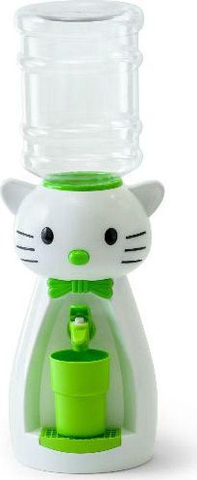 Vatten Kids Kitty кулер (со стаканчиком)5283Детский кулер Vatten Kids Kitty для любимых напитков вашего ребёнка!Папы и мамы тоже могут присоединиться!Отлично подойдет для применения в детской, на кухне, в офисе и на пикнике.Чисто и гигиеничноЛегко налить 8 стаканов воды или любимых напитков. Ваш самостоятельный ребёнок не обожжётся, не зальёт соседей водой и не будет ходить за вами с чашкой. Никаких проводов и электричества.Объем бутылки: 2,5 л.Уважаемые клиенты! Обращаем ваше внимание на цветовой ассортимент стаканчиков. Поставка осуществляется в зависимости от наличия на складе.