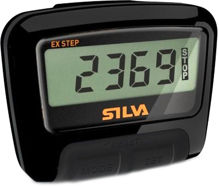 Шагомер Silva Pedometer ex Step, цвет: черный56052Легкий и компактный, удобный и современный шагомер.Встроенная функция для фильтрации случайных движений.Крепление: зажим для ремня.Дополнительный шнурТип батареи: 1x LR44Примерное время работы: 12мес.Вес: 19гр