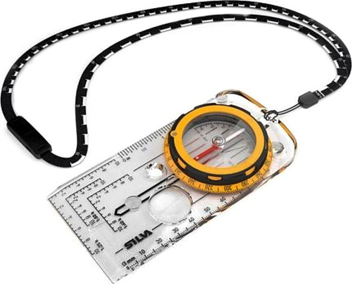 Компас Silva  Compass Expedition , цвет: желтый - Компасы и Курвиметры