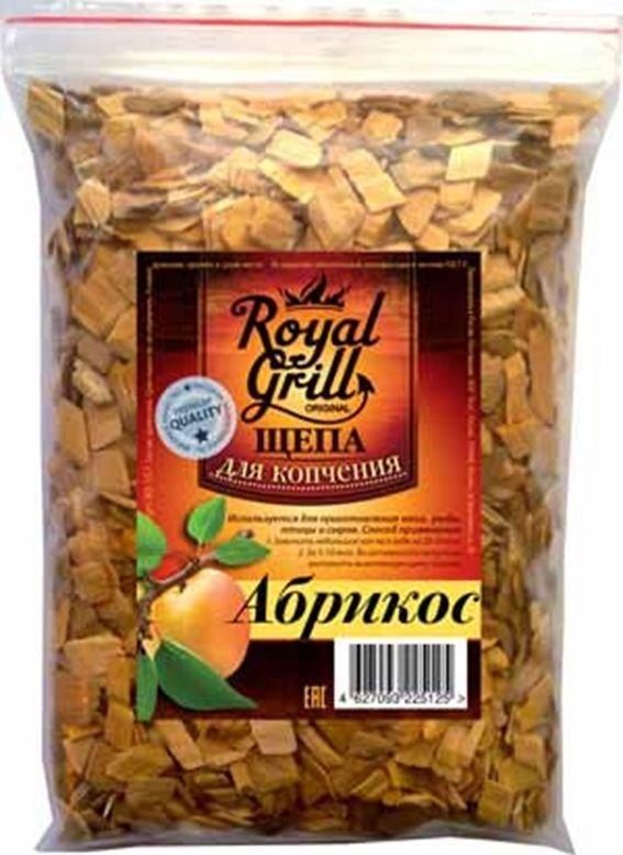Щепа RoyalGrill Абрикос, 1 л. 80-15780-157Щепа для копчения RoyalGrill изготовлена из древесины, прошедшей специальную обработку. Ее можно использовать не только для копчения продуктов в коптильнях, но и для придания вкуса и аромата блюдам из мяса, рыбы и птицы, приготовленным на гриле, мангале или на открытом огне.Вес: 230 г.