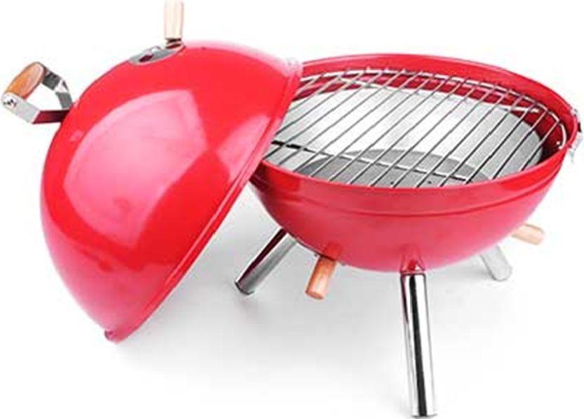 Жаровня для пикника RoyalGrill Фобос, с крышкой, диаметр 30 см. 80-11580-115Жаровня RoyalGrill на ножках, изготовленная из высококачественного металла,предназначена для приготовления мясных и рыбных блюд на открытом воздухе. Жаровня полностью закрывается крышкой, позволяя, помимо традиционного использования, коптить или тушить продукты. В корпусе есть вентиляционные отверстия с регулятором подачи воздуха. Для удобства транспортировки корпус гриля оснащен удобными ручками. Благодаря круглой форме корпуса жаровня легко моется после использования.