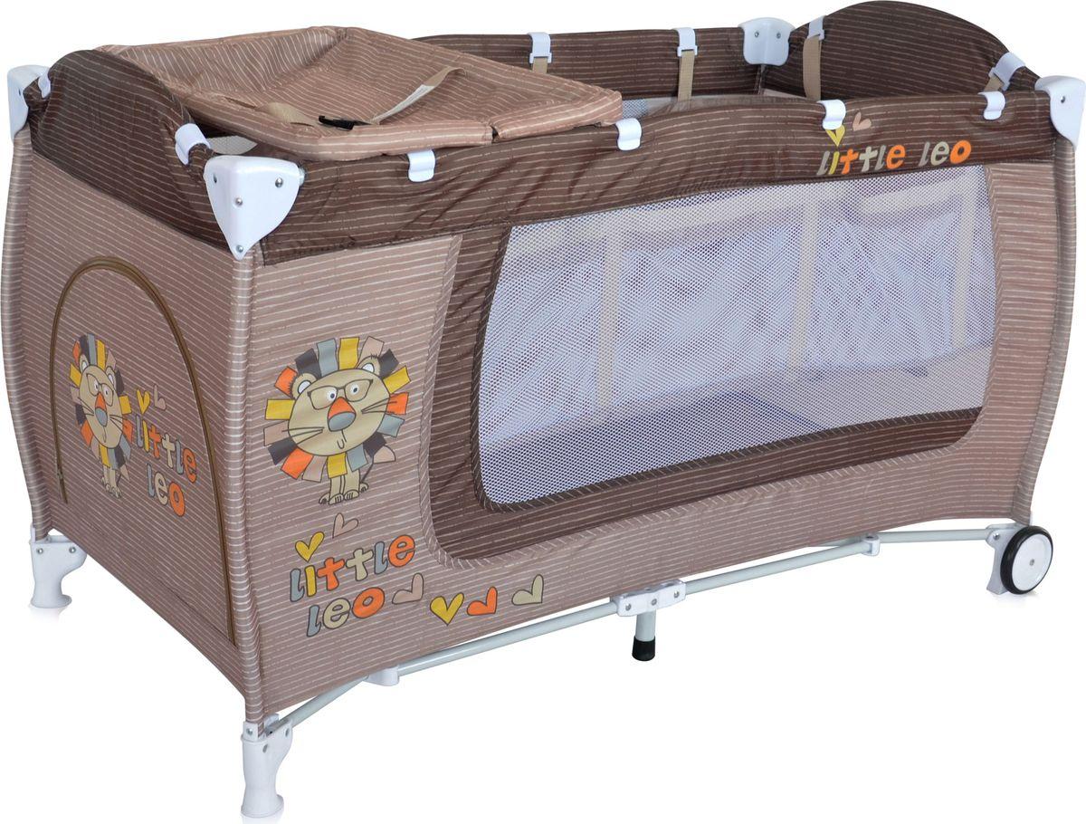 Lorelli Манеж Danny 2 цвет бежевый3800151960225Детский манеж-кровать для детей с рождения и до 3 лет. Верхний уровень с рождения и до 6 месяцев, в комплекте идет пеленальник с рождения и до 3 месяцев. Надежные пластиковые крепления. Два колеса с фиксацией. Яркие расцветки, приятны для мамы и малыша. Манеж безопасен для игр и сна малыша, надежная установка и безопасность. Манеж имеет боковой лаз на молнии, легкую систему складывания и раскладывания, сумку-чехол для переноски манежа. Матрасик в комплекте на дно манежа.
