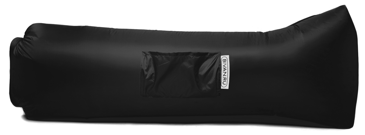 Диван надувной Биван 2.0, цвет: черный, 190 х 90 смBVN17-ORGNL-BLKБиван 2.0 — надувной гамак (лежак, диван) второго поколения. Отличается от оригинала продвинутой анатомической формой. Он стал более плоским — поэтому повысилась его устойчивость. Мы добавили подушку в изголовье, а также специальную мембрану, позволяющую спать лицом вниз.Верхний слой Бивана 2.0 выполнен из ткани с водоотталкивающей пропиткой.А еще у Бивана появилось два крепления для подсветки и два крепления для колышка.Быстронадуваемый. Чтобы подготовить Биван к использованию, понадобится около 15 секунд. Какой насос? Кому теперь нужен насос?!Для любых поверхностей. Биван выполнен из прочного износостойкого текстиля со специальной пропиткой. Ему не страшны трава, камни, вода и песок. Лежите, где хотите.12 часов релакса. Биван способен удерживать воздух более 12 часов, что позволит вам использовать его и для сна.