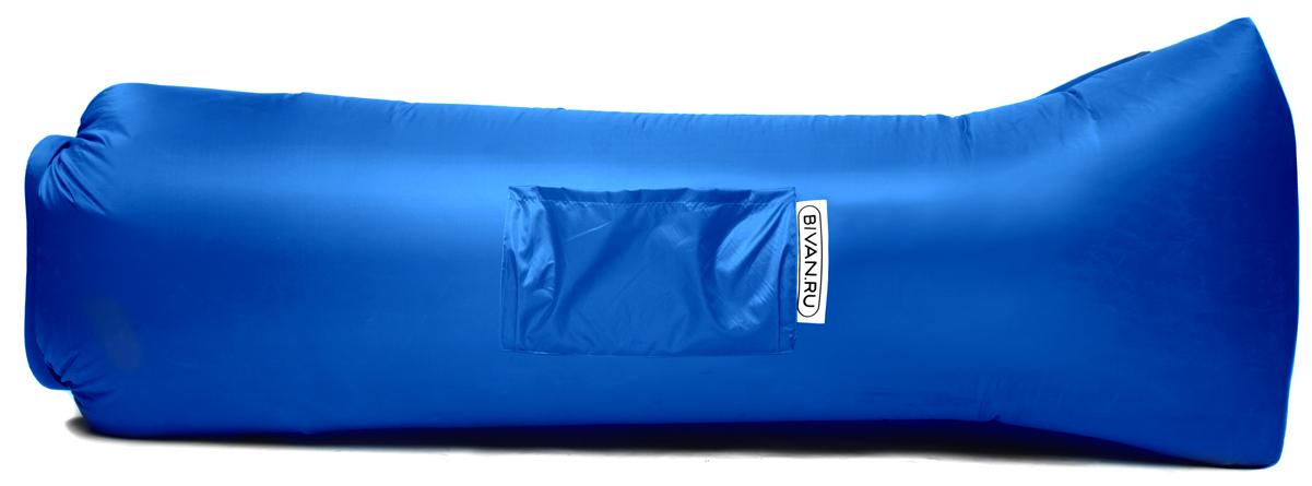 "Диван надувной ""Биван 2.0"", цвет: синий, 190 х 90 см"