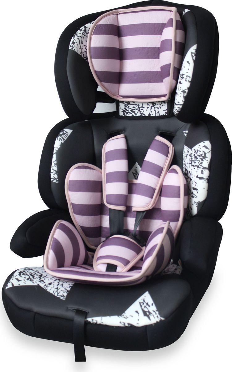 Lorelli Автокресло Junior Premium от 9 до 36 кг цвет розовый, черный lorelli автокресло junior premium от 9 до 36 кг цвет розовый черный