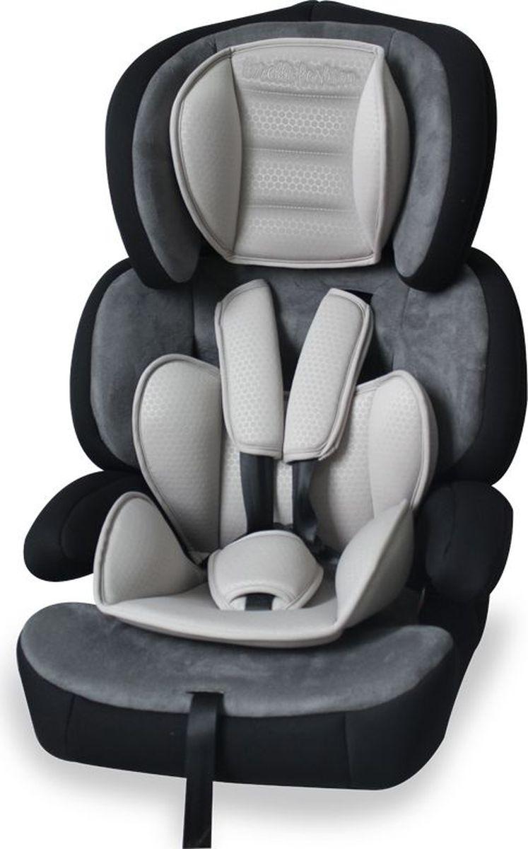 Lorelli Автокресло Junior Premium цвет серый от 9 до 36 кг3800151911500Автокресло от 9 до 36 кг среднего класса повышенной надежности имеет пятиточечный регулируемый по высоте ремень безопасности с мягкими накладками.Автокресло имеет регулируемый по высоте подголовник, трансформируется в бустер. Приятное качество ткани с дополнительной мягкой вставкой для малышей. Широкое посадочное место, хорошо подходит для крупных деток или в период зимы (когда ребенок одет в зимнюю одежду).Установка в автомобиле происходит в зависимости от веса ребенка: от 9 до 15 кг - по направлению движения с внутренними ремнями безопасности; от 15 до 22 кг - по направлению движения со штатным ремнем безопасности; от 25 до 36 кг - по направлению движения без спинки, со штатным ремнем безопасности.