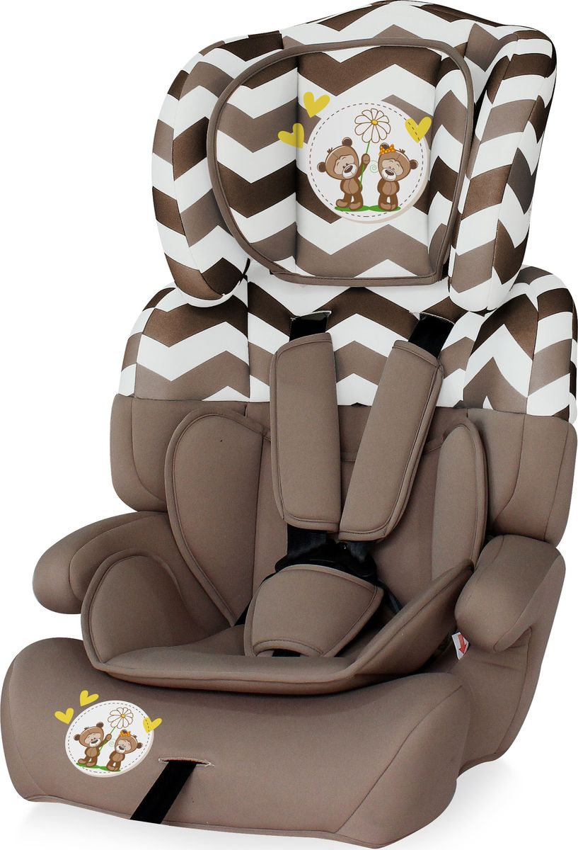 Lorelli Автокресло Junior Plus от 9 до 36 кг цвет бежевый - Автокресла и аксессуары