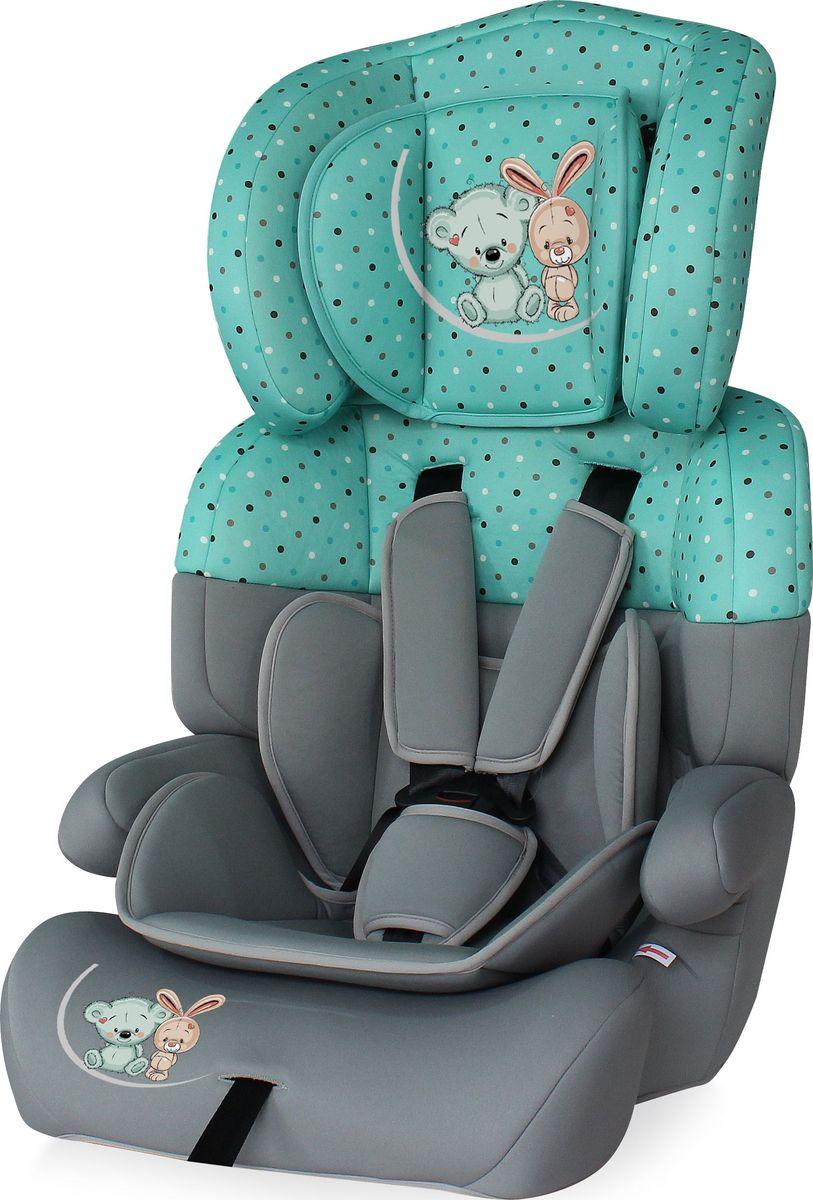 Lorelli Автокресло Junior Plus цвет серый зеленый от 9 до 36 кг - Автокресла и аксессуары