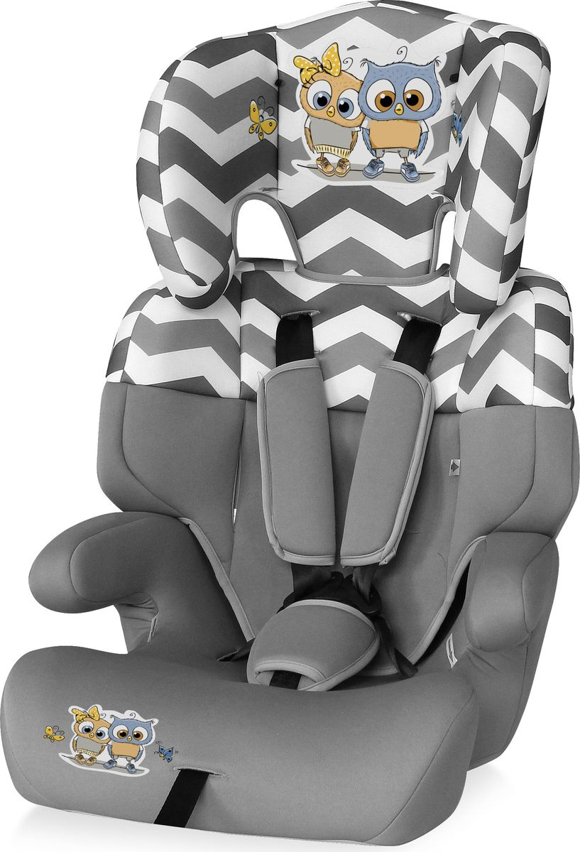 Lorelli Автокресло Junior от 9 до 36 кг цвет серый romer автокресло king ii ls green marble от 9 до 18 кг