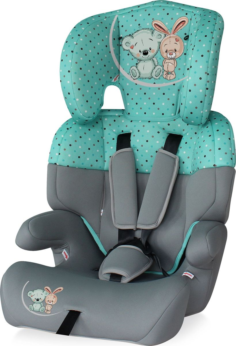 Lorelli Автокресло Junior цвет серый зеленый от 9 до 36 кг - Автокресла и аксессуары