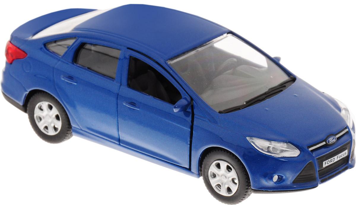 Autotime Модель автомобиля инерционная Ford Focus цвет синий машинки autotime машина uaz 31514 ваи