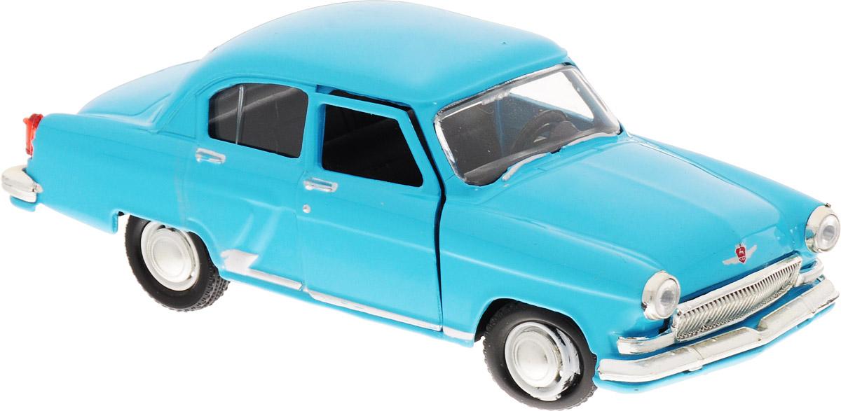 Autotime Модель автомобиля ГАЗ-21 Волга цвет голубой машинки autotime машина uaz 31514 ваи