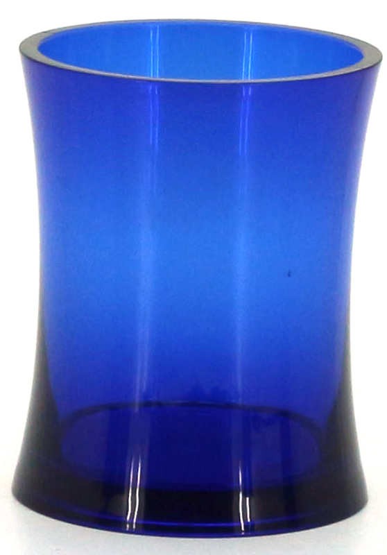 Стакан для ванной комнаты Коллекция Шик, цвет: синийATP-460Стакан для ванной комнаты Коллекция Шик изготовлен из высококачественного полипропилена. В таком стакане удобно хранить зубные щетки, тюбики с зубной пастой и другие принадлежности. Стакан для ванной комнаты Коллекция Шик стильно украсит интерьер и добавит в обычную обстановку яркие и модные акценты.Размер стакана: 7,6 х 7,6 х 11 см.