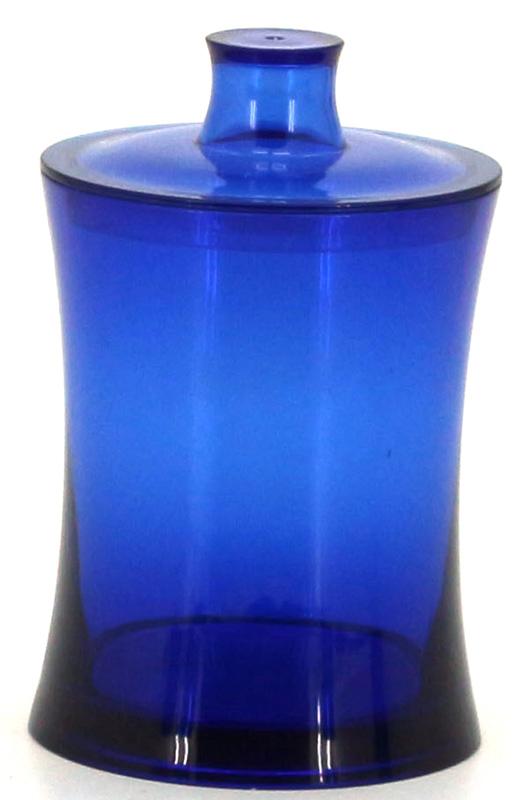 Емкость для хранения ватных палочек Коллекция Шик, цвет: синийATP-462