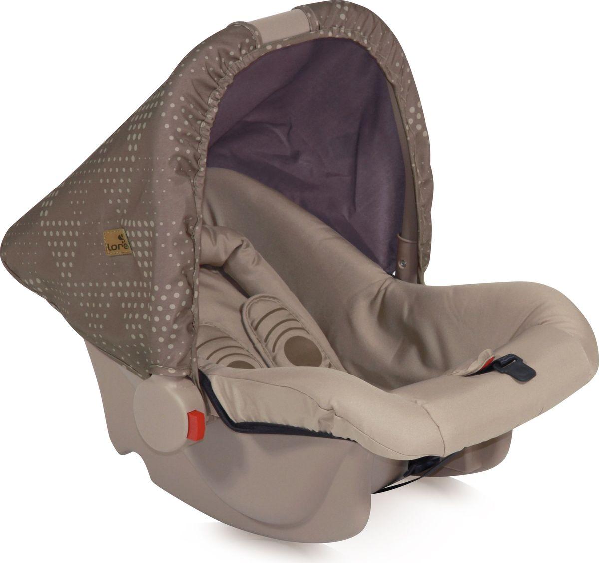 Lorelli Автокресло Bodyguard цвет бежевый от 0 до 13 кг3800151909132Автокресло Lorelli Bodyguard разработано для малышей в возрасте до 1 года.Комфортная модель легко пристегивается ремнями безопасности в любых авто, что является ее преимуществом. Кресло имеет небольшой вес и может быть использовано как качалка.