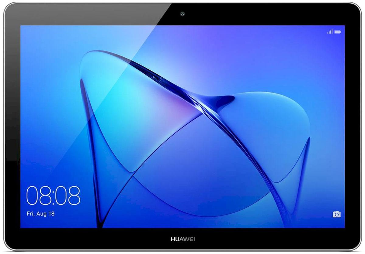 Huawei MediaPad T3 10 LTE (16GB), Grey53018522Планшетный компьютер Huawei MediaPad T3 10 LTE поддерживает MicroSIM-карты, обеспечивая вас мобильным интернетом с помощью 3G- и 4G-сетей.Широкий 9,6-дюймовый экран модели поддерживает разрешение 1280 x 800 пикселей и отлично подойдет для просмотра видео-контента. В сочетании с высокой плотностью пикселей яркий дисплей также обеспечивает комфортные условия для чтения и рабочих документов.Huawei MediaPad T3 10 LTE работает под управлением операционной системы Android 7.0, изменённой с помощью фирменной оболочки EMUI 5.1. Эта программа облегчает коммуникацию с планшетом и позволяет запускать два приложения на одном экране. Оболочка EMUI предлагает воспользоваться встроенной программой для мобильной связии SMS-клиентом, расширяя функциональность планшета до уровня смартфона.Благодаря емкому аккумулятору 4800 мАч, данный девайс обеспечит вам длительное время автономной работы даже в самых тяжелых режимах.Планшет сертифицирован EAC и имеет русифицированный интерфейс, меню и Руководство пользователя.Как выбрать планшет для ребенка. Статья OZON Гид
