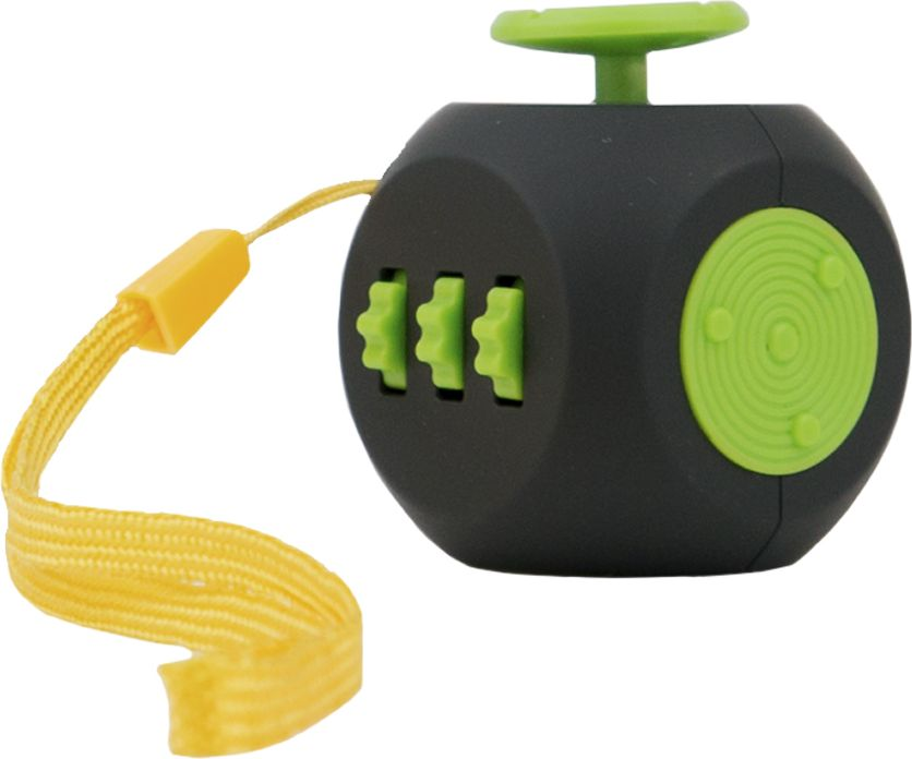 Fidget Cube 3.0 Air Игрушка-антистресс цвет черный зеленый