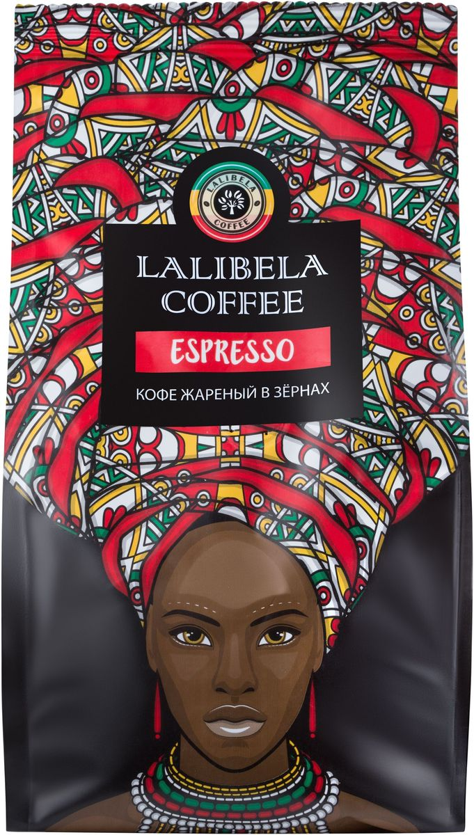 Lalibela coffee Espresso кофе в зернах, 250 г33170Пленительный и крепкий, Lalibela Coffee Espresso порадует вас сочной цитрусовой кислинкой во вкусе и горчинкой в послевкусии. Побалуйте себя ароматной чашечкой изысканного кофе по традиционному итальянскому рецепту. Лишь безупречное сочетание лучших сортов арабики и робусты позволяет получить этот образец эспрессо, насыщенный и терпкий, как сама жизнь.Кофе: мифы и факты. Статья OZON Гид