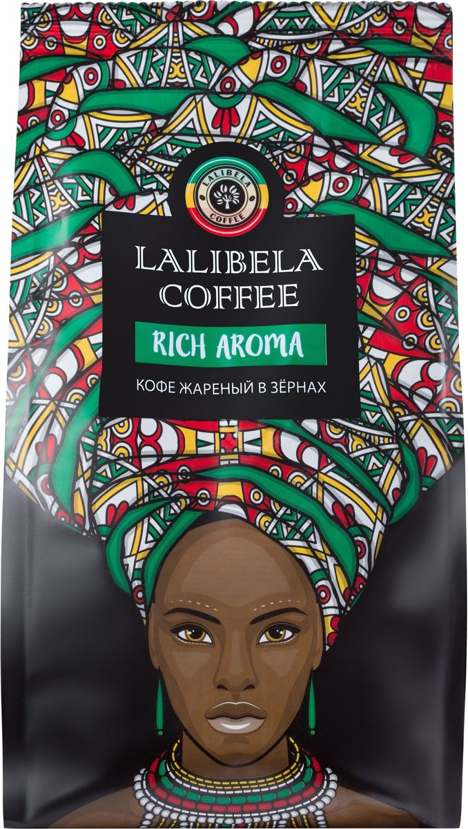 Lalibela coffee Rich Aroma кофе в зернах, 250 г memo lalibela парфюмерная вода lalibela парфюмерная вода