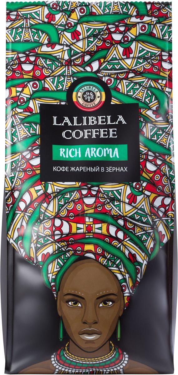 Lalibela coffee Rich Aroma кофе в зернах, 500 г33184Изысканная смесь из благородной арабики различных сортов, собранных на высокогорных плантациях Африки, подарит вам богатый вкус с фруктовыми нотками. Мягкий, бархатный аромат Lalibela Coffee Rich Aroma восхищает глубиной и тающей нежностью шоколадных оттенков.
