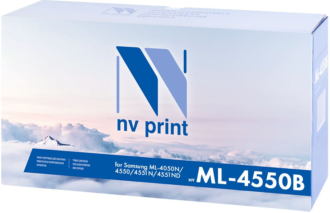 NV Print ML4550B тонер-картридж для Samsung ML-4050N/4550/4551N/4551NDNV- ML4550BКартридж NVP лазерный совместимый Samsung, производитель NV Print, модель NV-ML-4550B для Samsung ML-4050N/4550/4551N/4551ND, ресурс 20000 копий