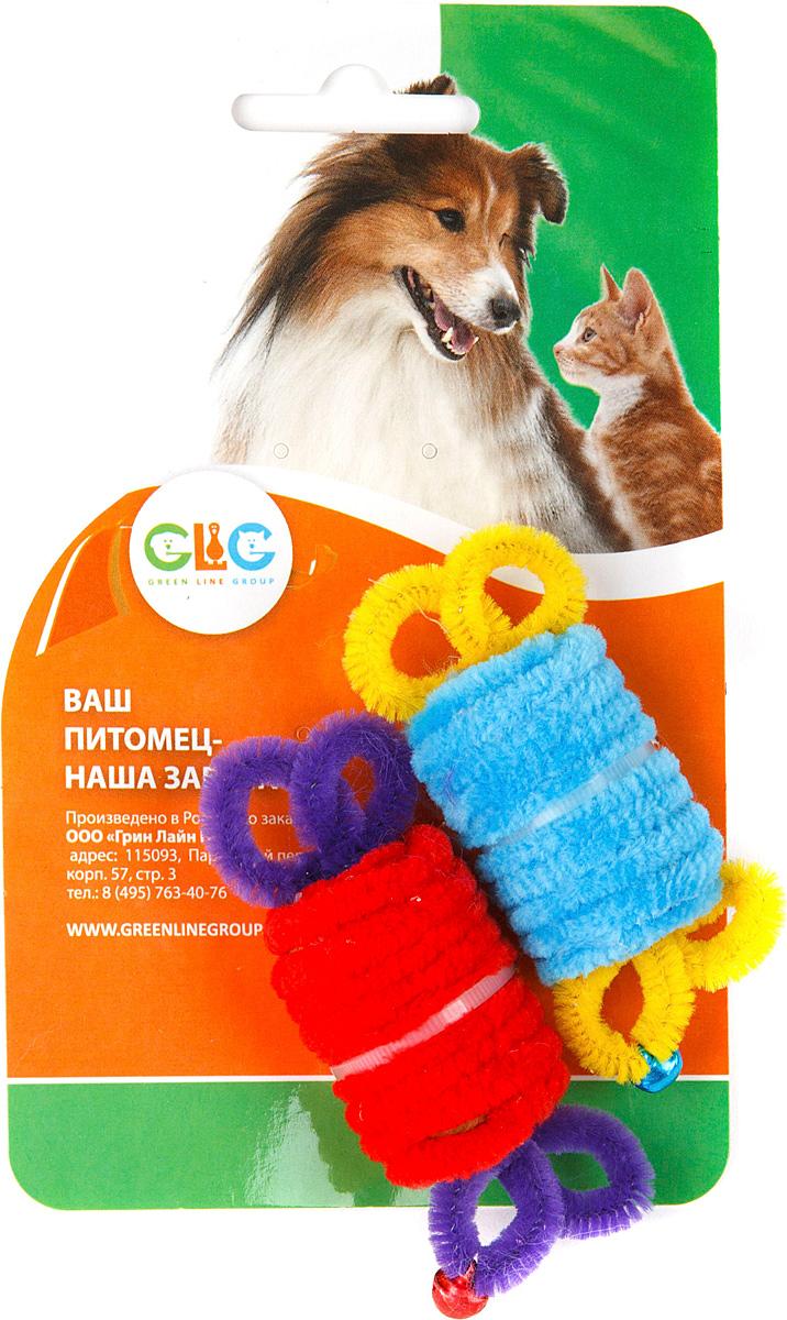 Игрушка для кошек GLG Ролл с бубенчиками, 2 штGLG007/Bm-ag011/cИгрушка будет поддерживать вашу кошку в отличной спортивной форме и не даст ей засидеться.Предназначена для активных игр с кошкой.Размер игрушки: 2,8 x 4,2 см.В наборе 2 игрушки. Уважаемые клиенты!Обращаем ваше внимание на цветовой ассортимент товара. Поставка осуществляется в зависимости от наличия на складе.