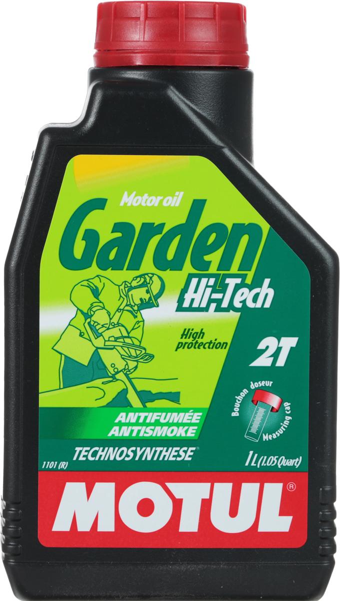 Масло моторное Motul Garden 2T Hi-Tech, 1 л. 106608 моторное масло motul garden 4t 10w 30 2 л
